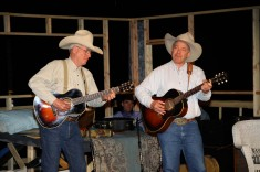 Guy & Pip Gillette entertain at Cowboy Poetry Gathering